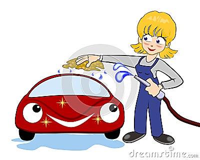 washes car stock photos image 19498333