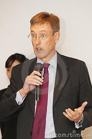 Nicholas  Winsor, HSBC Taiwan CEO Editorial Image