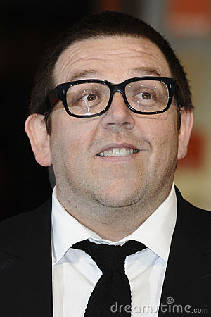 Nick Frost Editorial Stock Photo