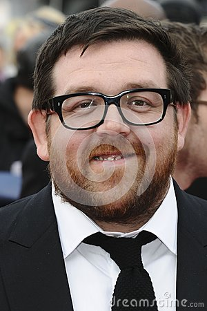 Nick Frost Editorial Image