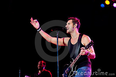 Nick Hexum of 311 in Concert Editorial Photography
