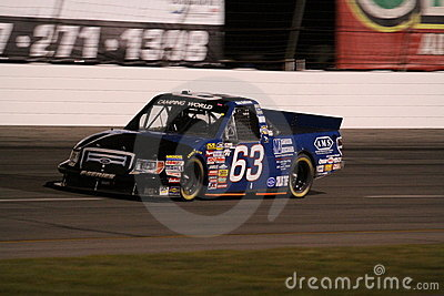 Nick Hoffman NASCAR Truck Series ORP Night 63 Editorial Stock Photo
