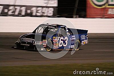 Nick Hoffman NASCAR Truck Series ORP Night 63 Editorial Stock Photo