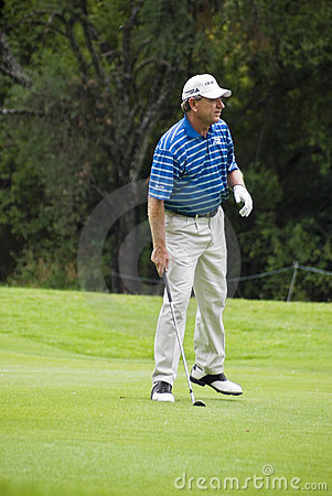 Nick Price - Fairway Shot Editorial Photo