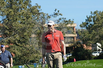 Nick Watney 2012 Farmers Insurance Open Editorial Image