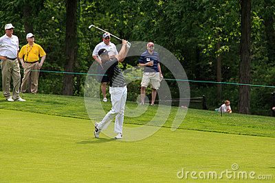 Nick Watney at the Memorial Editorial Stock Image