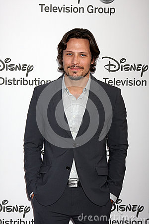 Nick Weschsler arrives at the ABC / Disney International Upfronts Editorial Photography