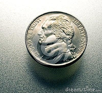 Nickel on metal