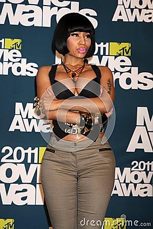 Nicki Minaj Editorial Stock Image