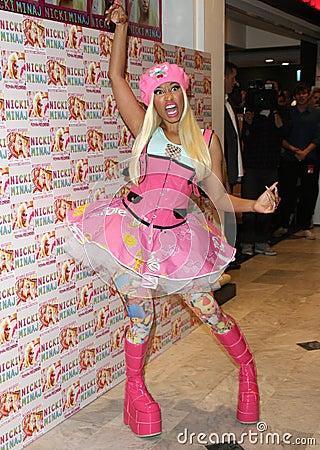 Nicki Minaj Editorial Photo