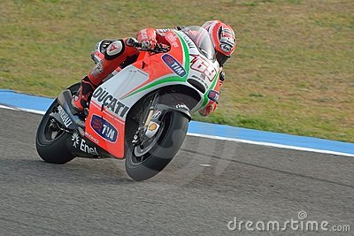 Nicky Hayden Editorial Photography