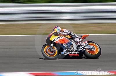Nicky Hayden - Repsol Honda Editorial Stock Image