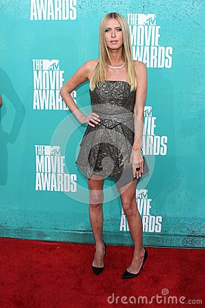 Nicky Hilton at the 2012 MTV Movie Awards Arrivals, Gibson Amphitheater, Universal City, CA 06-03-12 Editorial Image