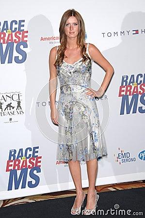 Nicky Hilton Editorial Stock Photo