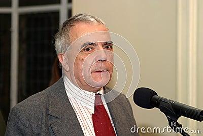 Nicolae Manolescu Editorial Image