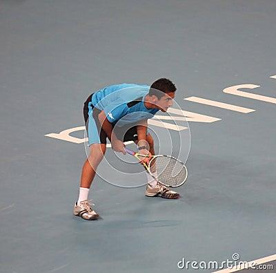 Nicolas Almagro (ESP), tennis player Editorial Photography