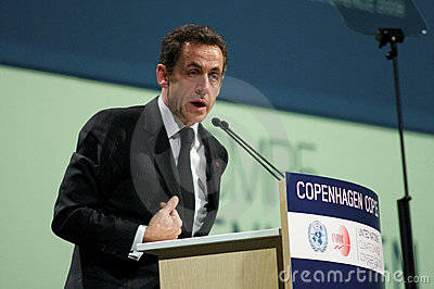 Nicolas Sarkozy Editorial Stock Image