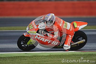 Nicolas terol, moto 2, 2012 Editorial Image