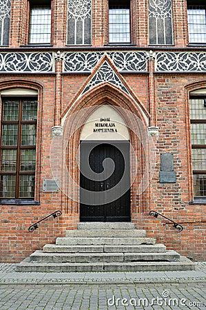 Nicolaus Copernicus  house. Editorial Image