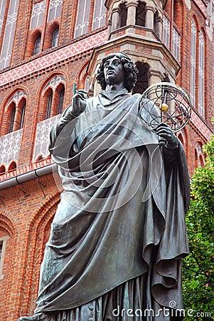Free Nicolaus Copernicus Monument In Torun Stock Photos - 15256163