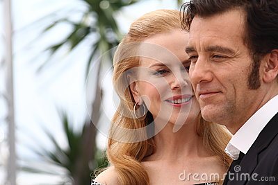 Nicole Kidman and Clive Owen Editorial Stock Image