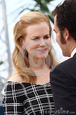 Nicole Kidman and Clive Owen Editorial Stock Photo