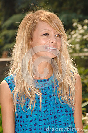 Nicole Richie Editorial Stock Photo