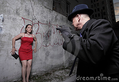 Niebezpieczeństwo kobieta