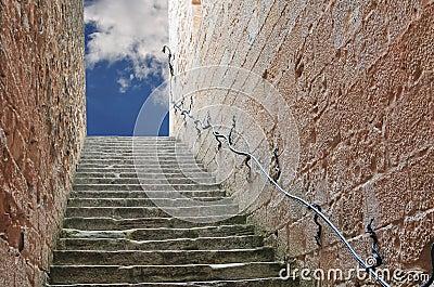 Niebiański schody