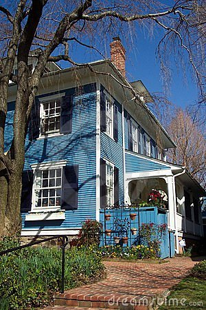 Niebieska chata