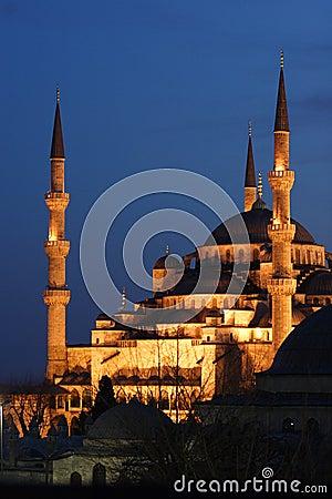 Niebieska meczetowa noc