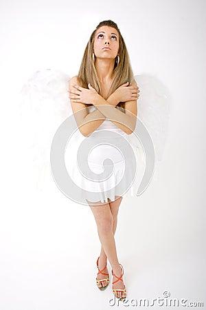Niebieski anioł