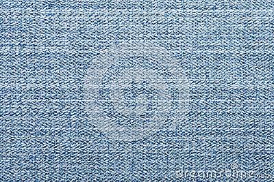 Niebieskich dżinsów macro tkanina