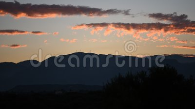 niebo, chmury słońca zbiory wideo