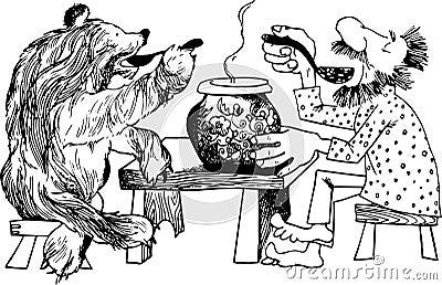 Niedźwiadkowa kolacja