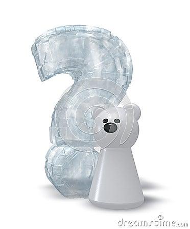 Niedźwiedzia polarnego pytanie