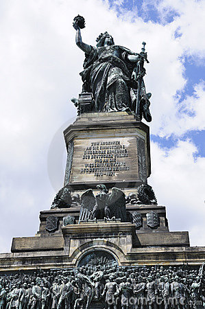 Niederwalddenkmal in Ruedesheim, Germany