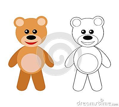 Niedźwiadkowy miś pluszowy