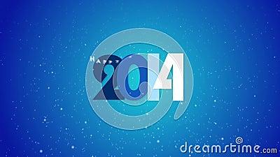 Nieuw jaar 2015 stock videobeelden