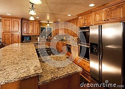 Nieuw keukeneiland stock foto 39 s afbeelding 9898073 - Huisverbetering m ...
