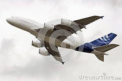 Nieuwe A380 Super Jumbo