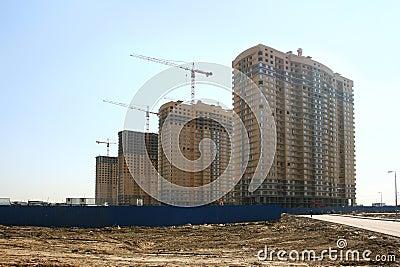 Nieuwe gebouwen