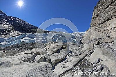Nigardsbreen Glacier - HDR