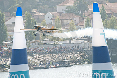 Nigel Lamb (GB) in Red Bull Air Race 2009 Editorial Image
