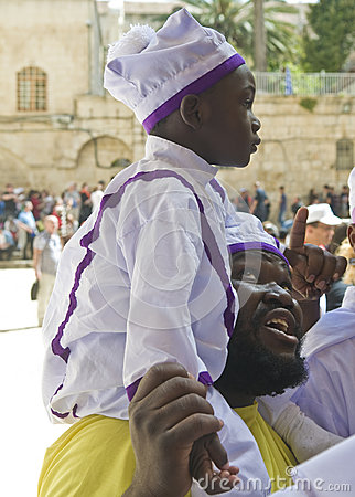 Nigerian pilgrims Editorial Photo