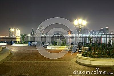 Night in Abu Dhabi