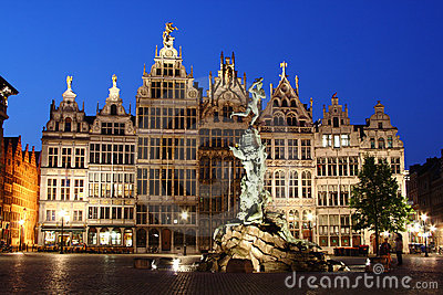 Night Antwerp