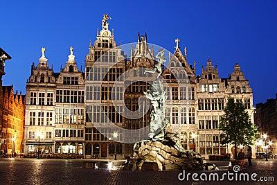 Night Antwerp