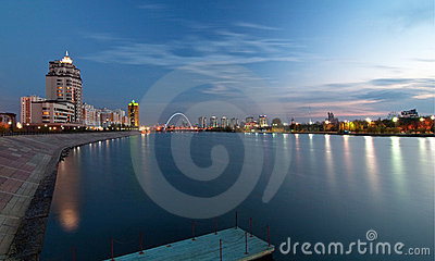 Night Astana