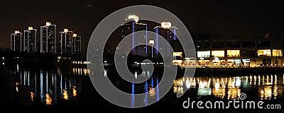 The  night of Beijing